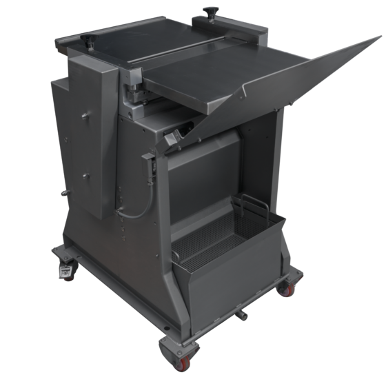 Free standing poultry skinner ST600SK - skin collector