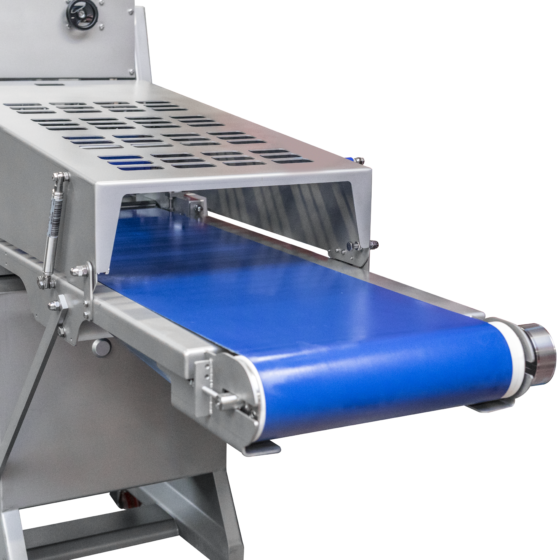 Automatic short poultry skinner - optional long infeed conveyor