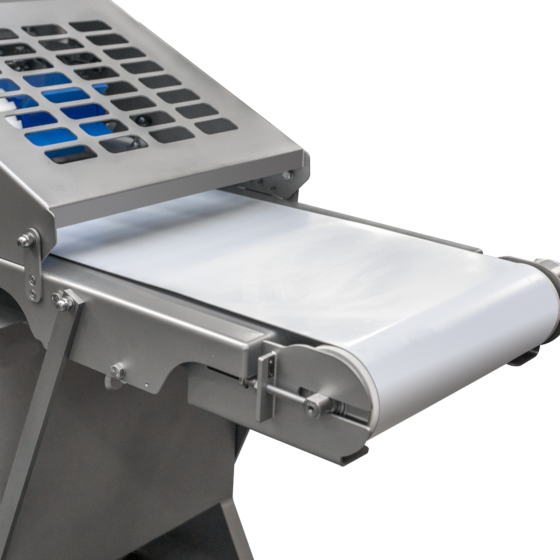 Automatic poultry skinner - skinning machine - optional short infeed