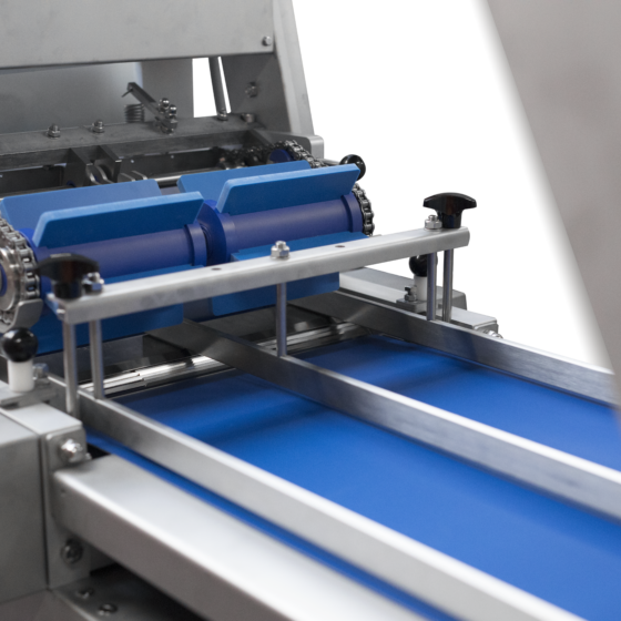 Automatic poultry skinner - skinning machine - 2 lane guide