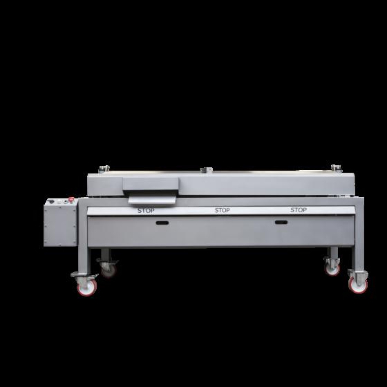 ST800 deboner, mirrored version for back to back setup - Automatic chicken deboning machine