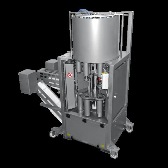 ST850 turkey deboner - Automatic turkey deboning machine, mirrored model for back to back setup