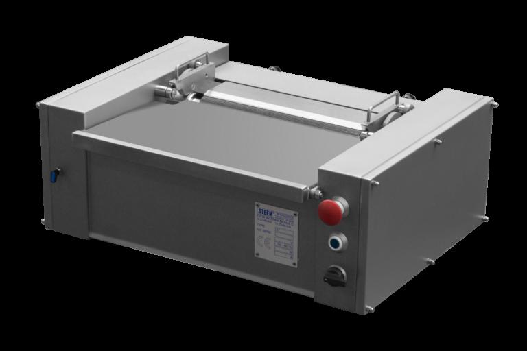 Tabletop fish skinning machine - manual fed benchtop fish skinner