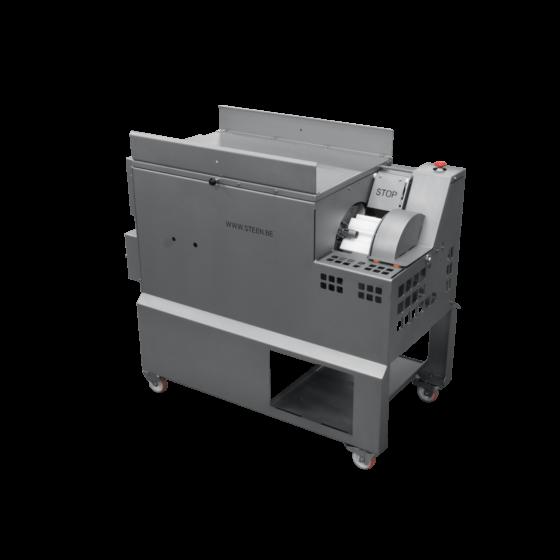 STEEN ST832 - Automatic chicken kneecap deboning machine - dark meat deboner for cartilage free meat.
